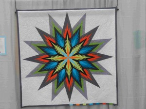 Stella!  by Susan Strong and quilted by Ardelle Kerr