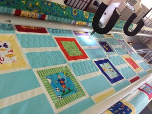 more quilting progress