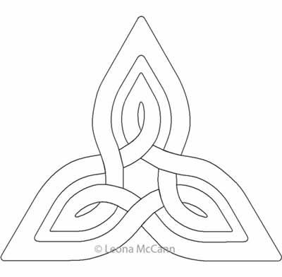 Celtic Knot Block 2